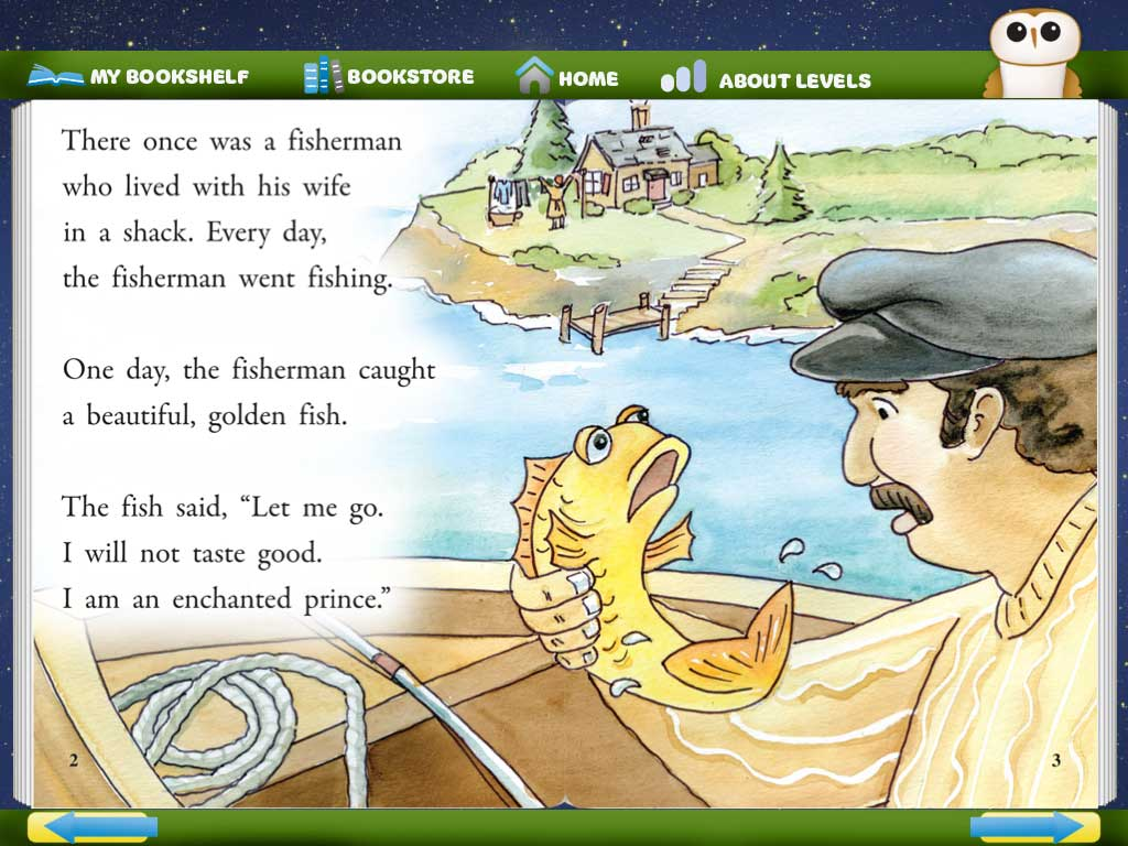 the beginning of the story about the gold fish and the fisherman The miraculous catch: preschool lesson & craft  did they catch any fish at first  allow them to glue gold fish onto the net.