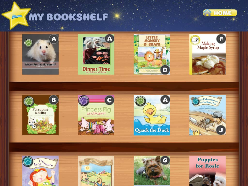 NEW FEATURE Level Labels On Books In Your Bookshelf