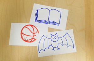 index cards with letter sound activities