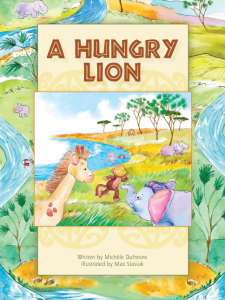 A Hungry Lion from Pioneer Valley Books